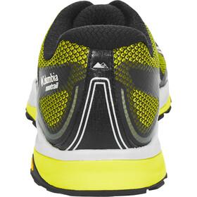 Columbia Trient Buty do biegania Mężczyźni żółty/szary